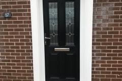 Black Esteem Composite Door - Ammanford, Carmarthenshire