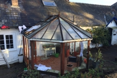 Builth Wells Conservatory Before