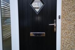 Rustic Renown Diamond Composite Door - Betws, Ammanford