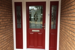Elegance Composite Door With Sidescreen - Brynamman, Ammanford