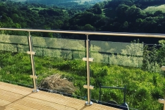 Stainless Steel with Saddle & Handrail