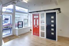 Ammanford showroom composite doors
