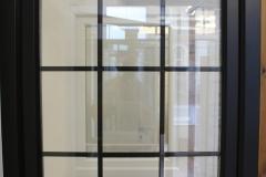 Black uPVC tilt & turn windows