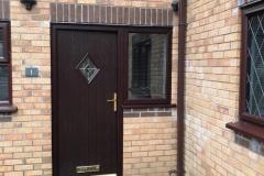 Renown Composite Door in Rosewood - Ystradgynlais, Powys