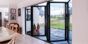 Aluminium bi folding doors Ammanford