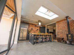 Aluminium Flat Rooflight
