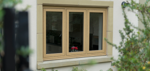 flush sash Irish oak