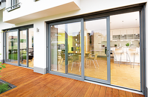 Visoglide Aluminium Door Sapphire Windows Ammanford