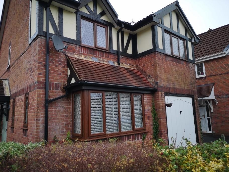 Hendy, Carmarthenshire Nut Tree Brown uPVC bay windows