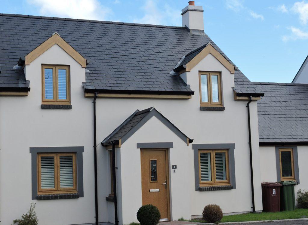 Irish Oak uPVC Windows, Composite door & roofline worksMilford Haven 1