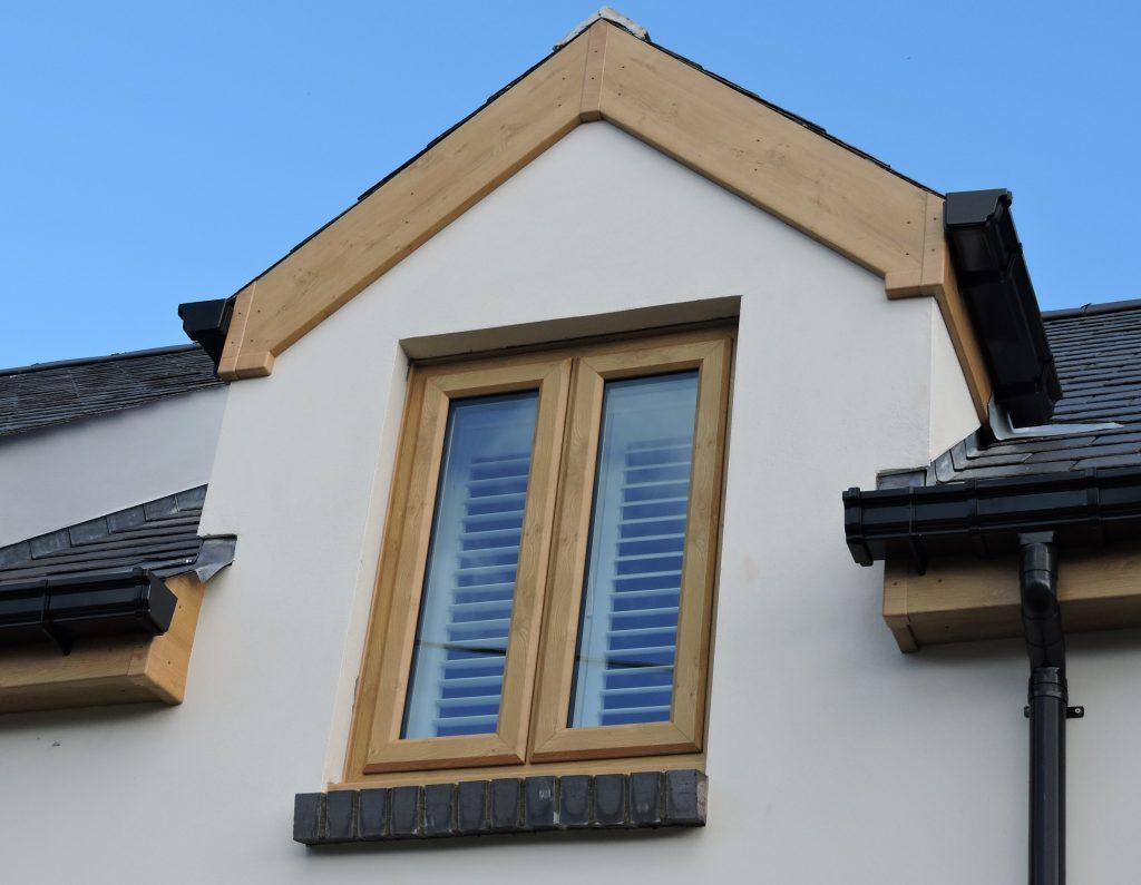 Irish Oak uPVC Windows & roofline works Milford Haven 2