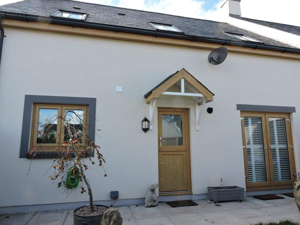 Irish Oak uPVC Windows, uPVC French Door & Composite stable door & roofline works Milford Haven 1Milford Haven 3