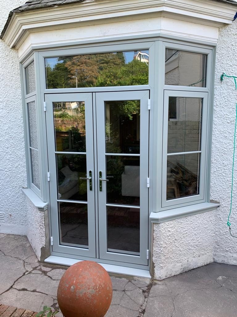 Heritage Flush door & Flush Sash Windows installed in Swansea