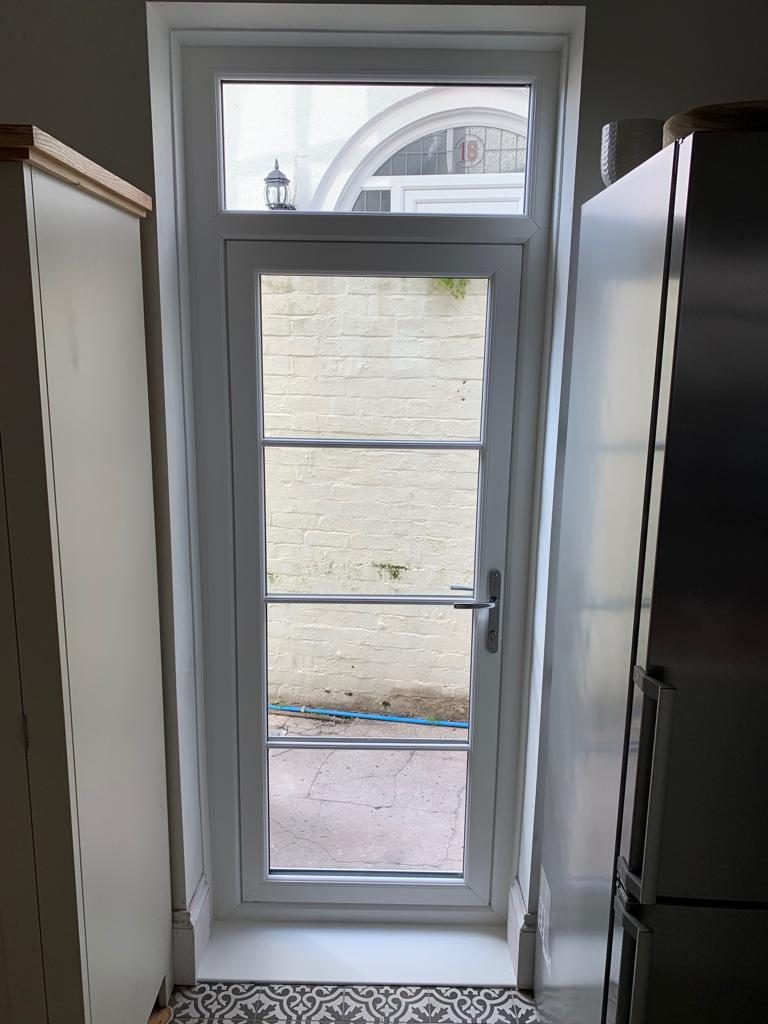 Heritage Flush door & Flush Sash Windows installed in Swansea 3
