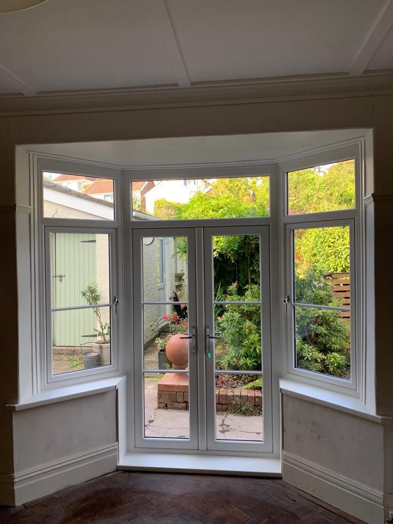 Heritage Flush door & Flush Sash Windows installed in Swansea 4